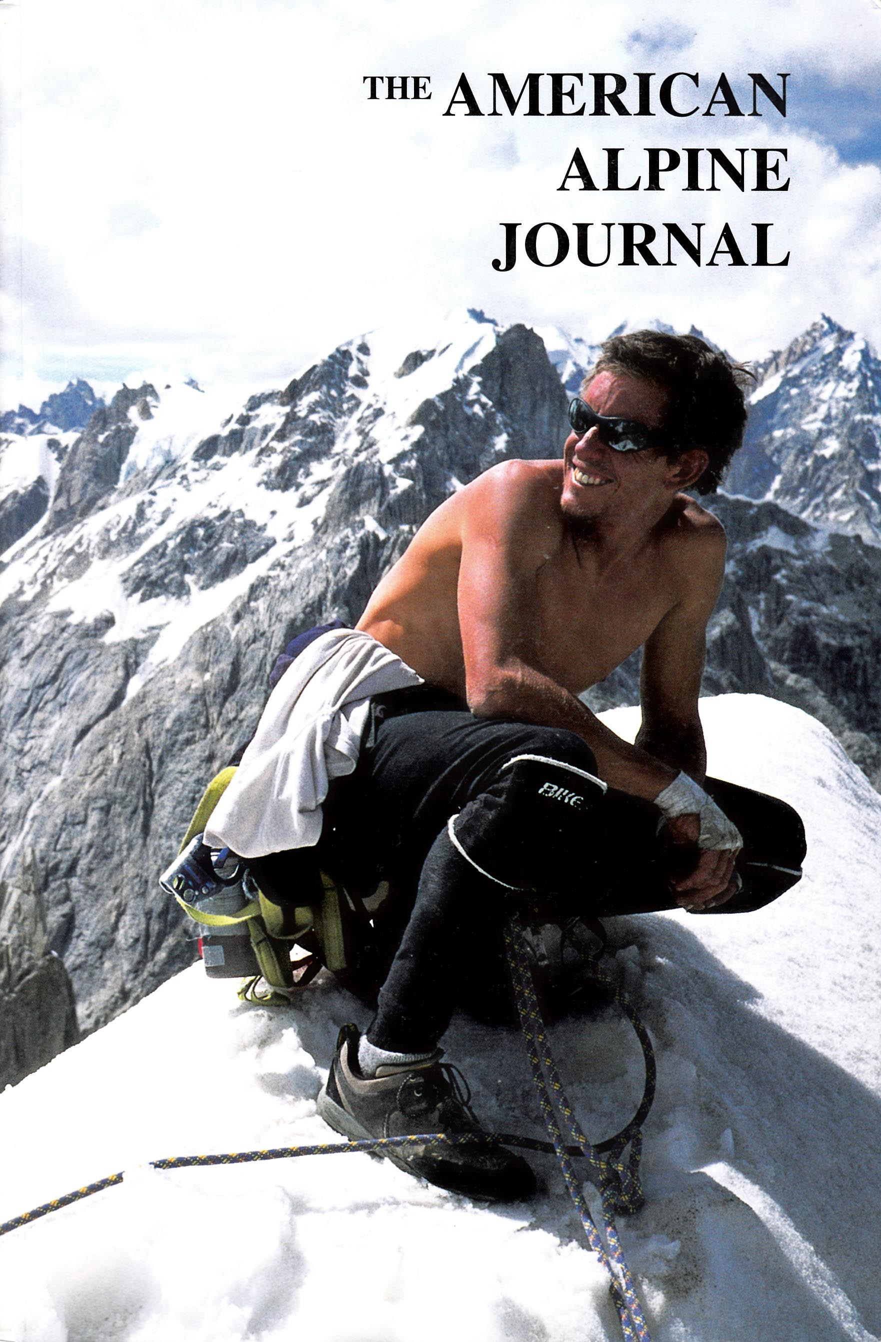 The American Alpine Journal 2001 cover