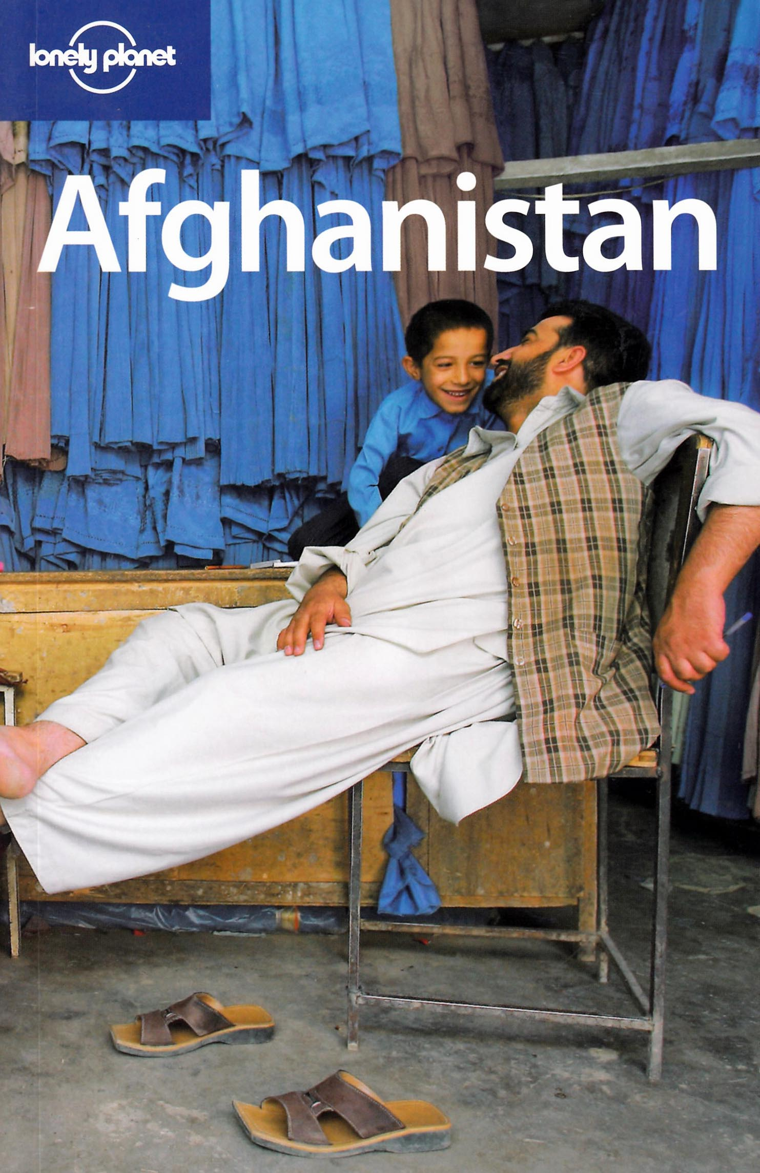 Lonely Planet Afghanistan Cover 1st edition