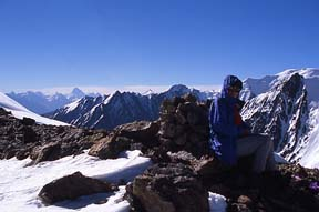 View south into Pakistan from Dilisang Pass (5,290m), August 6, 2004